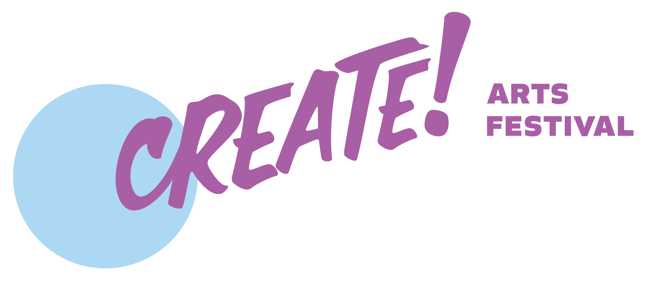 Create Arts Festival Logo